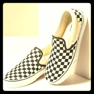 Checker board vans